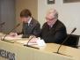 Tallinna Linnaväljaku headekavatsuste protokolli allkirjastamise pildid